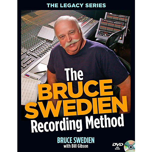 Hal Leonard The Bruce Swedien Recording Method Book/DVD-ROM-thumbnail