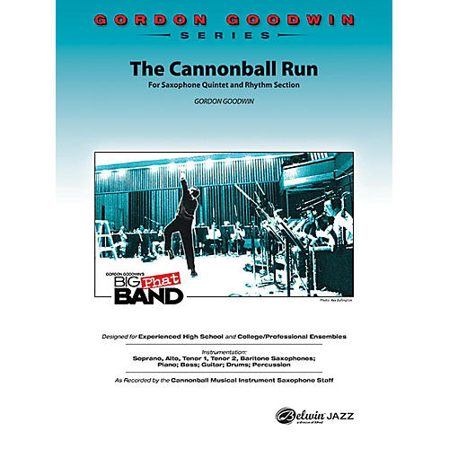 Alfred The Cannonball Run Jazz Band Grade 5 Set-thumbnail