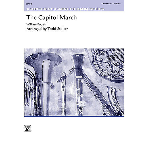 Alfred The Capitol March Concert Band Grade 1.5 Set-thumbnail