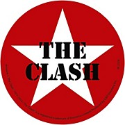 C&D Visionary The Clash Magnet - Star logo