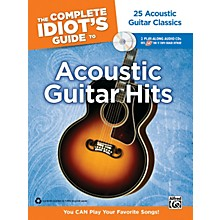 Alfred The Complete Idiot's Guide to Acoustic Guitar Hits Tab Book/ 2 CDs