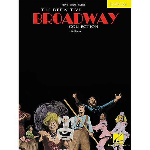 Hal Leonard The Definitive Broadway Collection Songbook - Second Edition (Piano, Vocal, Guitar)-thumbnail