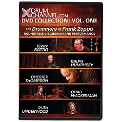 The Drum Channel The Drummers of Frank Zappa DVD (93-DV10005801)