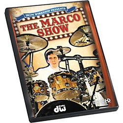 The Drum Channel The Marco Show by Marco Minnemann DVD (77-6DVDMMSW)