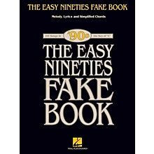Hal Leonard The Easy Nineties Fake Book Easy Fake Book Series Softcover