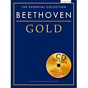Music Sales The Essential Collection Beethoven Gold Book/CD