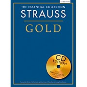 Music Sales The Essential Collection Strauss Gold (Book/CD)