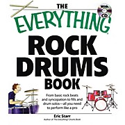 Adams Media The Everything Rock Drums Book Book Series Softcover with CD Written by Eric Starr