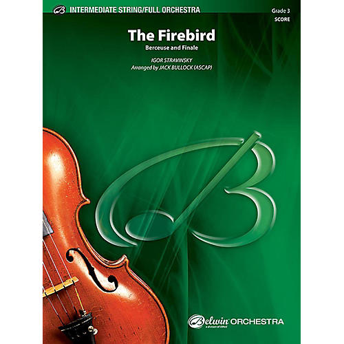 Alfred The Firebird Full Orchestra Grade 3 Set-thumbnail