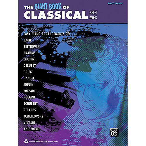 Alfred The Giant Book of Classical Sheet Music Easy Piano Book-thumbnail