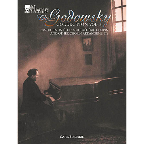 Carl Fischer The Godowsky Collection Vol. 3-thumbnail