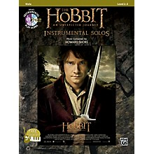 Alfred The Hobbit: An Unexpected Journey Instrumental Solos for Strings Viola (Book/CD)