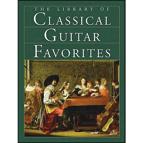 Music Sales The Library Of Classical Guitar Favorites