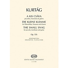 Editio Musica Budapest The Little Predicament, Op. 15b (Performance Score) EMB Series Composed by György Kurtág