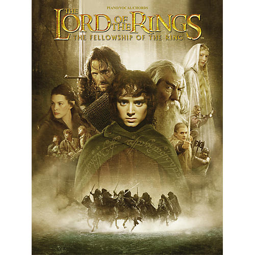 Alfred The Lord of the Rings The Fellowship of the Ring Piano/Vocal/Chords-thumbnail