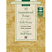 Alfred The Mark Hayes Vocal Solo Collection: 10 Inspirational Songs for Solo Voice (Book & Acc. CD)