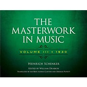 Alfred The Masterwork in Music, Volume III 1930 - Volume III 1930