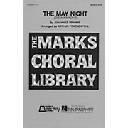 Edward B. Marks Music Company The May Night SATB composed by Johannes Brahms
