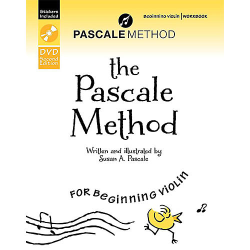 Alfred The Pascale Method for Beginning Violin Workbook, DVD, and Stickers (2nd Edition)-thumbnail