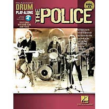 Hal Leonard The Police - Drum Play-Along Volume 12 Book/CD