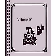 Hal Leonard The Real Book - Volume 4 (B Flat Edition)