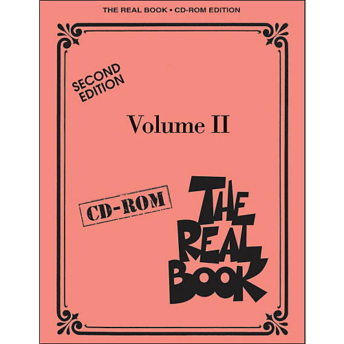 Hal Leonard The Real Book Volume 2 Second Edition C Instruments CD-Rom/Pkg