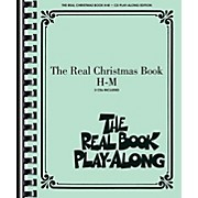 Hal Leonard The Real Christmas Book Play-Along H-M Book/3 CD Pack