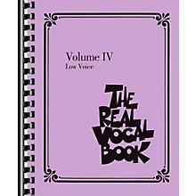 Hal Leonard The Real Vocal Book Volume 4 - Low Voice