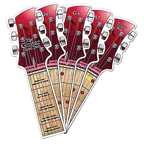 Amsco The Rock Guitar Chord Deck-thumbnail