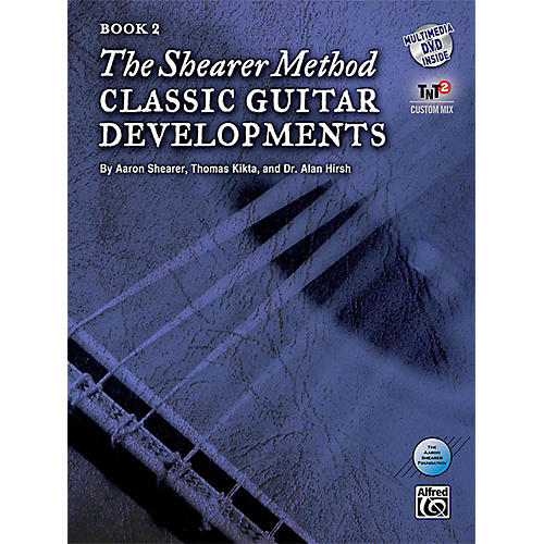 Alfred The Shearer Method Book 2: Classic Guitar Developments Book & DVD-thumbnail