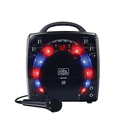 The Singing Machine Portable CD & Graphics Karaoke System (SML283BK)
