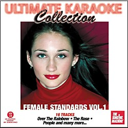 The Singing Machine Ultimate Karaoke Collection Female Standards Volume 1 Karaoke CD+G (G4446)