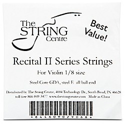 The String Centre Recital II Violin String set (RECIIVNSTRNG18SET)
