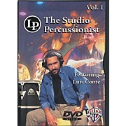 LP The Studio Percussionist Vol. 1 featuring Luis Conte DVD