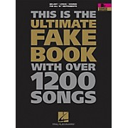 Hal Leonard The Ultimate Fake Book with Over 1200 Songs B Flat Instruments forth Edition
