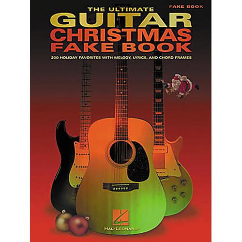 Hal Leonard The Ultimate Guitar Christmas Fake Book