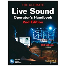 Hal Leonard The Ultimate Live Sound Operator's Handbook Book/DVD 2nd Edition