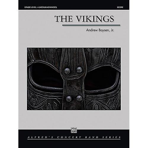 Alfred The Vikings Concert Band Grade 4 (Medium Advanced)-thumbnail