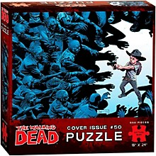 USAOPOLY The Walking Dead Cover Art Issue 50 Puzzle
