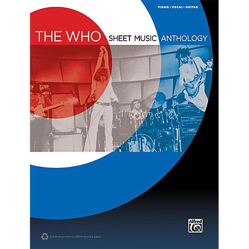 Alfred The Who - Sheet Music Anthology Piano/Vocal/Guitar Book-thumbnail