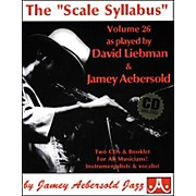 "Jamey Aebersold The""Scale Syllabus"" Booklet and 2-CD Set"