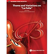 "Alfred Theme and Variations on ""La Fol­a"" String Orchestra Grade 1"