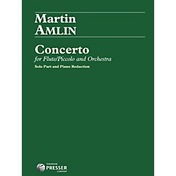 Theodore Presser Concerto For Flute/Piccolo And Orchestra (Book + Sheet Music) (114-41552)
