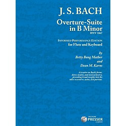 Theodore Presser Overture-Suite In B Minor (Book + Sheet Music) (114-41534)