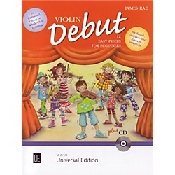 Theodore Presser Violin Debut - Pupils Book (Book + CD) (UE021532)