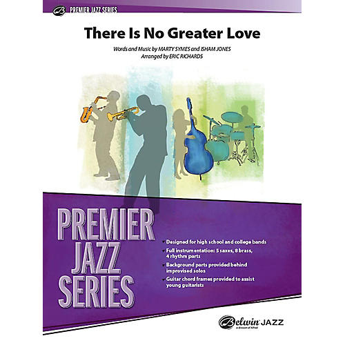 Alfred There Is No Greater Love Jazz Band Grade 5 Set-thumbnail