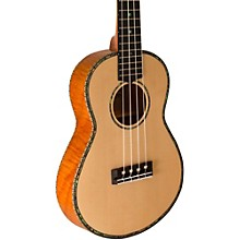 Lanikai Thinline Solid Spruce Top TunaUke Equipped Tenor Ukulele
