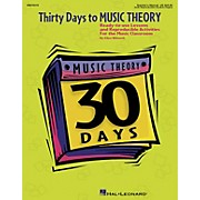 Hal Leonard Thirty Days to Music Theory (Classroom Resource)