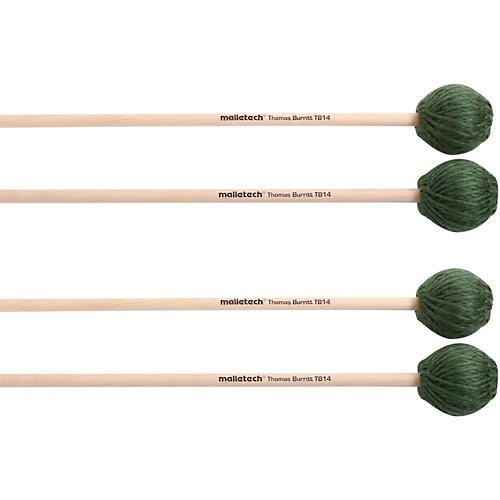 Malletech Thomas Burritt Marimba Mallets Set of 4 (2 Matched Pairs)-thumbnail