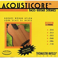 Thomastik AB346 Acousticore Phosphor-Bronze 6-String Bass Strings (AB346)